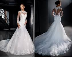 mermaid bridal gowns with beaded mermaid lace wedding dresses