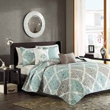 turquoise quilted coverlet home essence arbor 6 piece quilted coverlet set walmart com