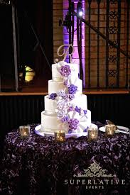 wedding supply rental wedding cake spotlights with purple uplights gobo projector