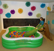 endearing fun playroom ideas for kids with white paint walls also