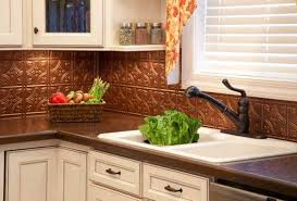copper kitchen backsplash tiles traditional copper kitchen backsplash tiles with white cabinets