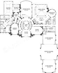 White House First Floor Plan Breakers Neoclassic House Plans Luxury Home Blueprints