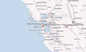 concord california map peaks san francisco california mountain information