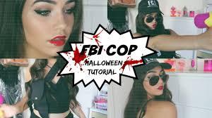 halloween costume fbi agent halloween tutorial fbi cop youtube
