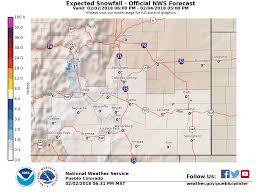 Snowfall Totals Map Snowfall Probabilities