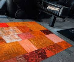 Orange Modern Rugs Rug In Orange Color If One Of Contemporary Rugs Inspired