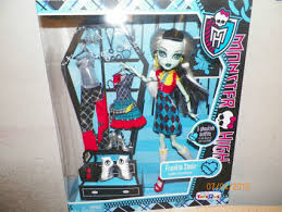 free monster love fashion frankie stein doll 3 ghoulish