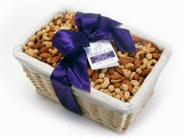 nuts gift basket deluxe mixed nut basket cashews almonds pecans filberts hazelnuts
