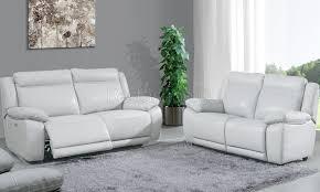 canapé cuir relax électrique ensemble canapé 3 2 places en cuir et pvc avec relax électrique