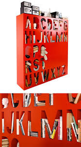 Alphabet Bookcase 50 Of The Most Creative Bookshelves Ever Architecture U0026 Design