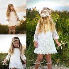 short mini kids bridesmaid dresses 2015 a line long sleeve lace