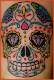 sugar skull design and meaning popular ideas