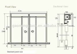 Patio Door Sizes Top Sliding Patio Door Measurements D85 On Stunning Home Design