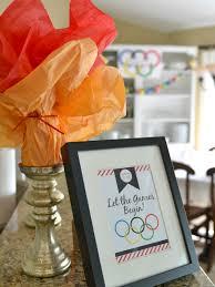 Olympic Themed Decorations Olympics Party Ideas Kid Friendly Olympics Projects Olympics Food