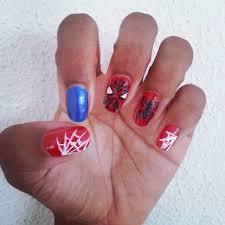 diy spiderman nail art deeper than fashion