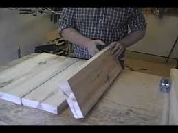 How To Make A Computer Out Of Wood by Make A Table Top How To Youtube
