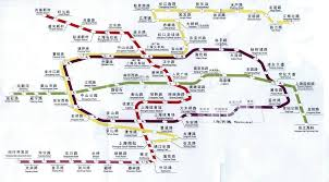 Shanghai Subway Map by Shanghai Metro Map Shanghai U2022 Mappery