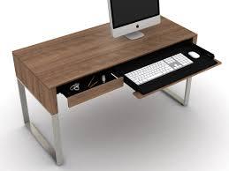 Modern Desk by Modern Contemporary Cascadia Desk By Bdi Five Elements Furniture
