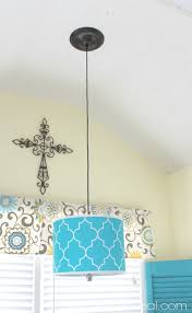 how to hang a pendant light with a cord how to turn a l shade into a pendant light mom 4 real