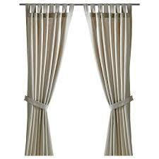 Ikea Curtains Panels Lenda Curtains With Tie Backs 1 Pair 55x118 Ikea