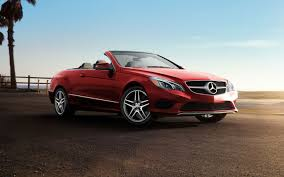 convertible mercedes red benz 2013 e class red