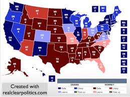 2012 Election Map by Electoral Vote Predictor A Tightening Race Thanks To Bad