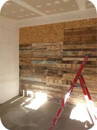 meuble fait en palette mon mur en palettes meubles pinterest palette mur et