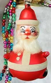 vintage italian glass christmas ornament 1960 u0027s 70 u0027s alien