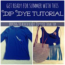 Upcycle Old Tshirts - upcycle old t shirts with this dip dye technique home sweet road