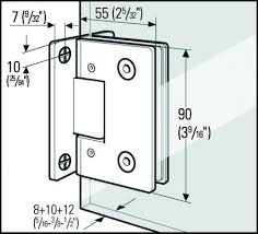 Shower Door Hinge Re Shower Door Question Frameless Door Hinges Showcase Shower