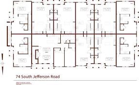 Jefferson Floor Plan by 74 South Jefferson Rd South Village