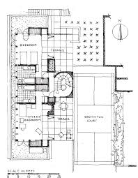 california floor plans lower level plan of the weston havens house berkeley california
