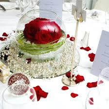 Wedding Reception Centerpieces Red And Ivory Wedding Reception Decorations U2013 Thejeanhanger Co