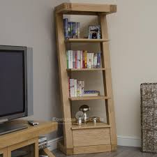 Narrow Depth Bookcase by Bookcases Pine Oak Painted And Bespoke Furniture