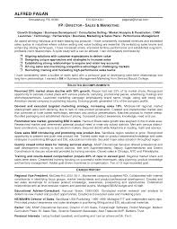 Strategy Resume Sales Manager Resume Sample Marketing