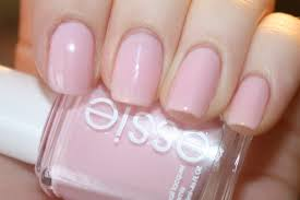 essie baby pink nail varnish on the hunt