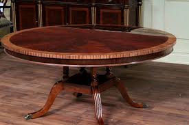 12 Foot Dining Room Tables Bedroom Excellent Extra Large Foot Triple Pedestal Mahogany
