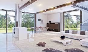 impressive living room decorating luxury marble floor white marble