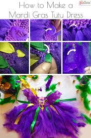 diy mardi gras costumes how to make a toddler mardi gras tutu dress diy om livin tutorial