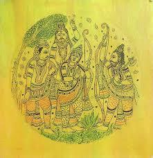 19 best ram and sita images on pinterest indian art folk art