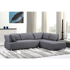 sofas with metal legs modern elvis right side chaise sectional sofa with metal legs free