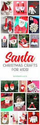 adorable santa christmas crafts for kids landeelu com