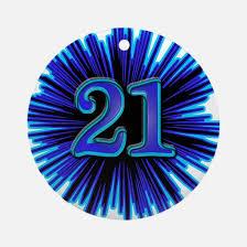 21st birthday 21st birthday ornament cafepress