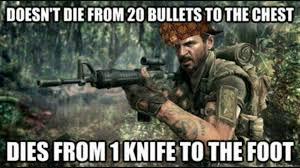 Funny Cod Memes - video game logic gamefans