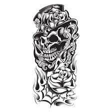 black skull designs 40 black and white designs