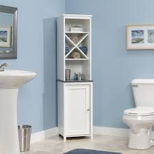 bathroom linen storage ideas sauder bath linen tower 414036 sauder
