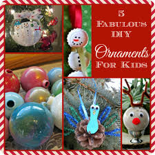 Diy Christmas Ornaments by 5 Fabulous Diy Christmas Ornaments For Kids The Adventures Of J