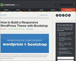 bootstrap tutorial treehouse 45 great wordpress bootstrap themes