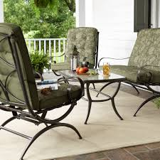 Kmart Patio Furniture Sets - jaclyn smith cora 4 piece seating set green outdoor living