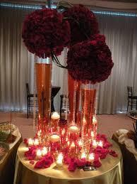 Table Wedding Decorations Amusing Burgundy Wedding Decoration Ideas 15 For Wedding Table